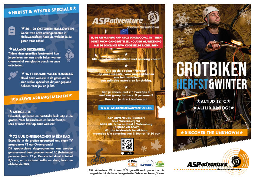 flyer asp adventure interactief website